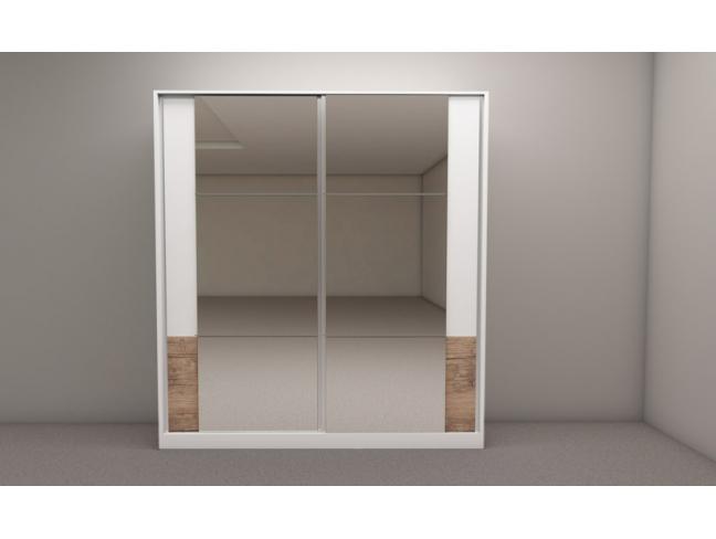 Гардероб Калифорния мод. 5 с плъзгащи врати на супер цени