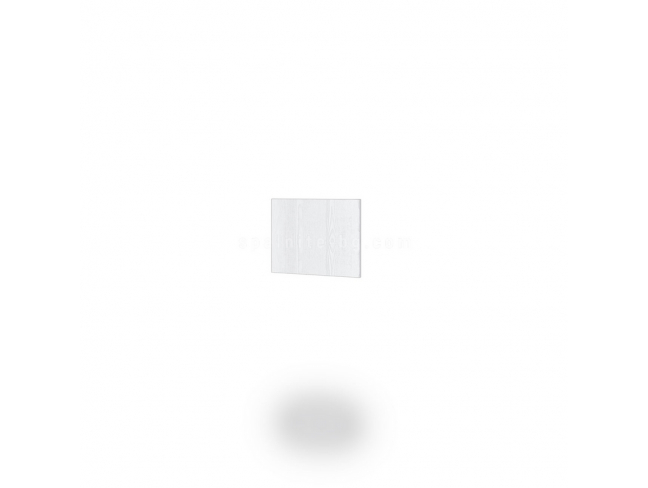 Краен панел Dress мдф бяло фладер на супер цени